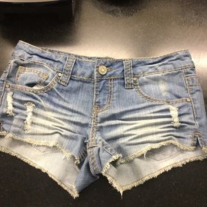 """RSQ """"Cabo cut off"""" jean shorts size 5"""
